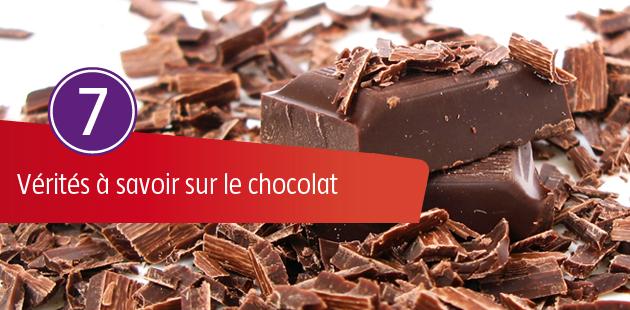 7 Vérités à Savoir sur le Chocolat