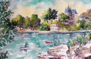 Tristan Hosotte, peintre amoureux de la côte de jade