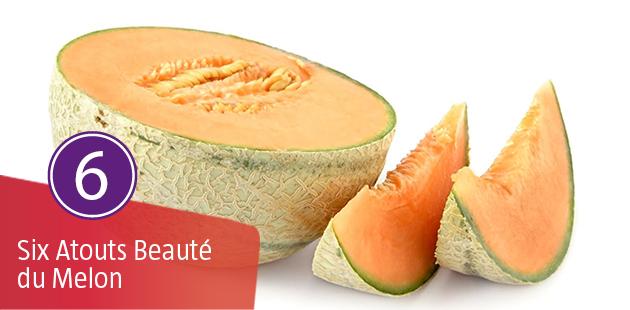 Les 6 Atouts Beauté du Melon