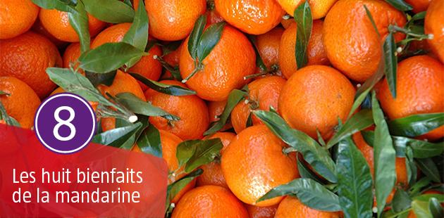 Les 8 Bienfaits de la Mandarine