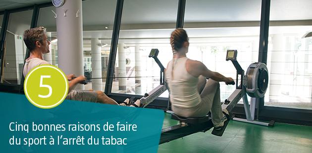 5 Bonnes raisons de faire du Sport à l'Arrêt du Tabac