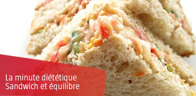 Comment composer un Sandwich équilibré ?