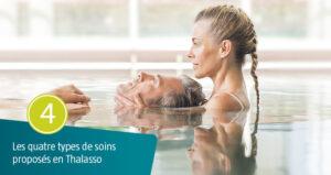Les quatre types de soins en Thalasso