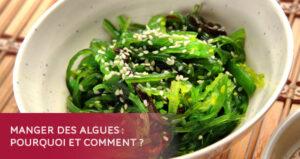 Manger des algues : pourquoi et comment ? Thalasso de Pornic