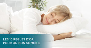 Beautiful woman sleeping in white bed