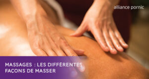 Les différentes façons de masser - Thalasso Pornic