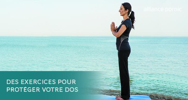 Des exercices pour protéger votre dos