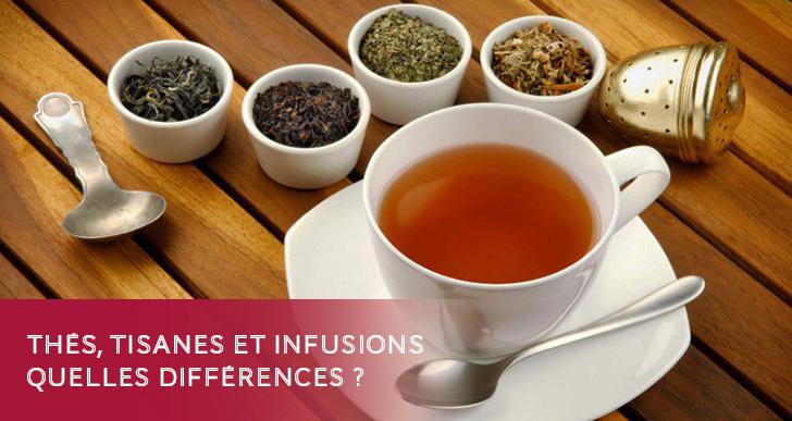 Thés, tisanes et infusions ?