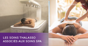 Les soins thalasso associés aux soins spa - Thalasso Pornic