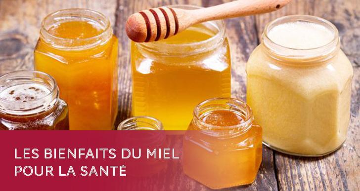 Les bienfaits du miel pour la santé
