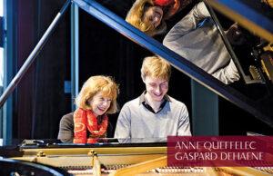 Anne Queffelec et Gaspard Dehaene