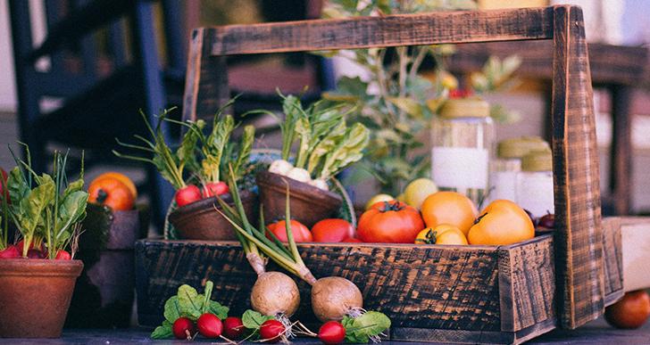 Les fruits et légumes d'été